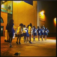 Spring 2014 -Sorors of Pi Xi Chapter-University of Arizona. Congratulations Sorors and Welcome to the Sisterhood