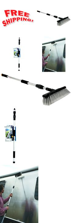Other Home Cleaning Supplies 300: Car Wash Brush 72 Telescoping Handle Soft Cleaning Head Rv Truck Washing Tool -> BUY IT NOW ONLY: $63.92 on eBay!