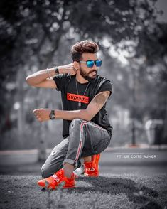 Image may contain: 1 person, playing a sport and outdoor Photo Pose For Man, Best Free Lightroom Presets, Photoshoot Pose Boy, Studio Background Images, Photoshop Images, Photography Poses For Men, Portraits, Swag Boys, Instagram