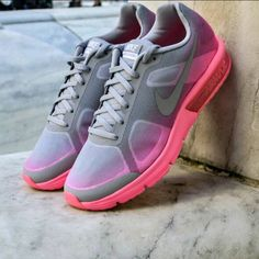 Nike Air Max Sequent: Grey/pink