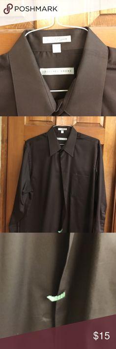 Men's Geoffrey Beene Sateen Dress Shirt Men's Wrinkle Free Geoffrey Beene Sateen Dress Shirt 17 1/2 32/33. Freshly Dry Cleaned Geoffrey Beene Shirts Dress Shirts