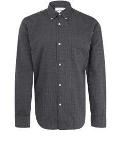 Folk Window Pane Checked Cotton Shirt | Menswear | Liberty.co.uk ...