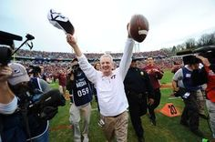 Watch: Beamer reacts to bowl eligibility