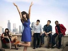 New Girl. Who's that girl? IT'S JESS