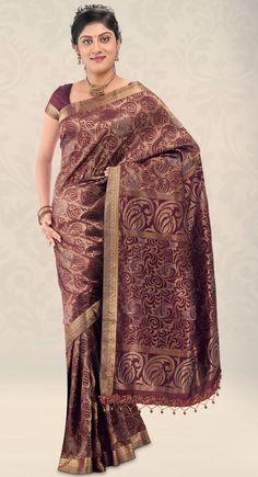 Sparkling Fashion: classic silk sarees