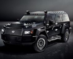 Conquest Vehicles Launches EVADE Unarmored Luxury SUV : Discovery Channel