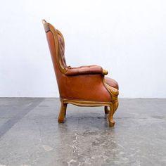 neobarokk chesterfield bútor, kényelmes fotel