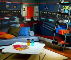 This Star Trek bedroom. | The 32 Geekiest Bedrooms Of All Time