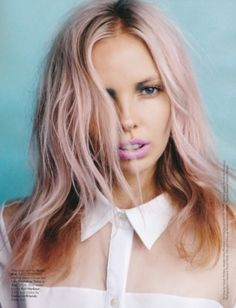 Love this! Pastel hair color