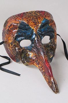 European masks - Captain Scaramouche mask, Venice