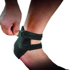 1pc Neoprene Ankle Open Brace Support Pad Guard Achilles Tendon Sports Strap