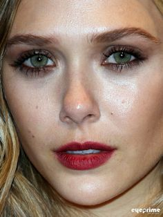 Lipstain.