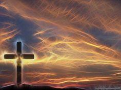 Cross & Sky Christian Wallpaper Background a GIMP edit of my ...