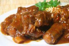 Aprenda a fazer o tradicional pratobrasileiro: Rabada: Quando bem feita, a rabada é deliciosa!