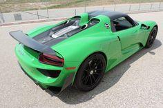 Viper Green Porsche 918 Spyder for Sale at $1,999,999 - GTspirit