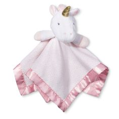 bc6c19a30596 UNICORN CLOUD ISLAND SECURITY BLANKET Lovey PINK NWT Baby GIRL shower gift