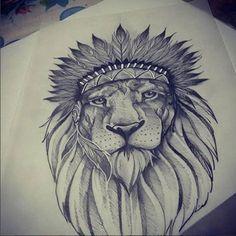Tatuagens de Leões Masculinos   +De 100 Modelos   Tatuagens - Ideias Chicano Tattoos, Leo Tattoos, Arm Tattoos For Guys, Mini Tattoos, Sleeve Tattoos, Tatoos, Zentangle Drawings, Tattoo Drawings, Lion Tattoo Design