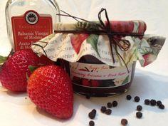 Strawberry Balsamic & Black Pepper Jam by JennysJams on Etsy