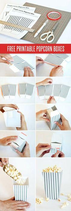 bolsas de palomitas para imprimir