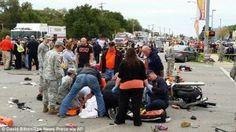 Drunk Adacia Chambers, 25, 'traveling at 50mph' plows into crowd at Oklahoma State University homecoming parade
