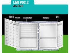 2015_LMIv02.2_FullsetA5MONdo2p_Filofax Inserts Refills by DIYfish