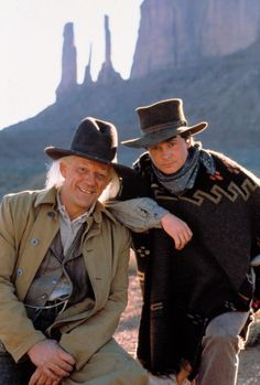 Back to the Future Part III (1990) - Christopher Lloyd and Michael J. Fox