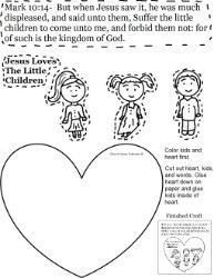 Made to Serve God Coloring Sheet for God Made Me Bible