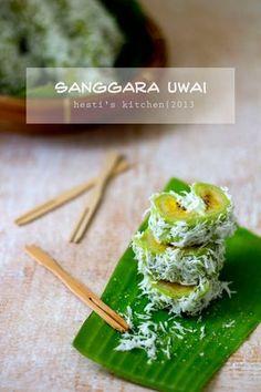 HESTI'S : yummy for your tummy: Jajanan Tradisional Indonesian Desserts, Indonesian Cuisine, Indonesian Recipes, Bengali Fish Recipes, Indian Food Recipes, Asian Snacks, Asian Desserts, Fruit Recipes, Clean Recipes