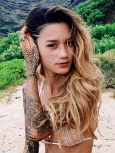 She's absolutely gorgeous #tattoos