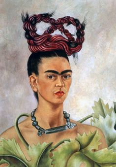 "Frida Kahlo said regarding her painting """"I never paint dreams or nightmares. I paint my own reality. The only thing I know is that I paint because I need to, and I paint whatever passes through my head without any other consideration."""