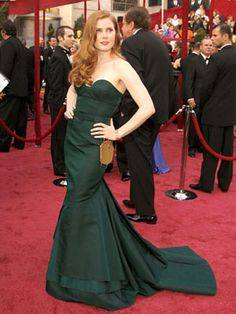 The Best Oscar Dresses of All Time: Amy Adams, 2008, Proenza Schouler