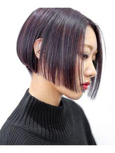 Asian Short Hair, Short Hair Cuts, Short Hair Styles, Short Hairstyles For Women, Bob Hairstyles, Boy Cuts, Long Bob, How To Make Hair, Salons