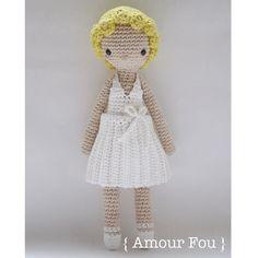 Marilyn  Crochet Pattern by Amour Fou