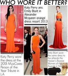 """""""Who Wore it Better? Katy VS Emily"""" by nikolina-pinto ❤ liked on Polyvore"""