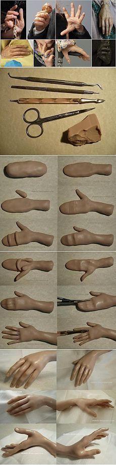 ideas doll stuff diy polymer clay for 2019 Polymer Clay Dolls, Polymer Clay Crafts, Diy Clay, Sculpting Tutorials, Clay Tutorials, Sculptures Céramiques, Sculpture Clay, Polymer Clay Sculptures, Clay Figures