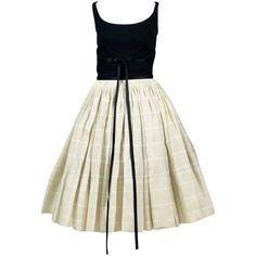 Preowned Important 1960s Vintage Pierre Cardin Clover Dress ...