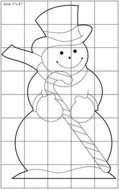 snowman yard decoration plan pattern