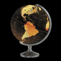 "Orion Illuminated 12"" Desk Globe {Rand McNally}"