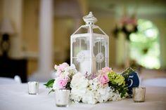 1 of 3 table arrangements for the Paul Wedding #thompsonhouseandgardens…