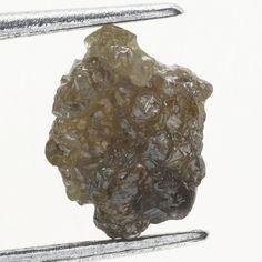 0.74 Ct Natural Loose Diamond Raw Rough Reddish Color Irregular Shape