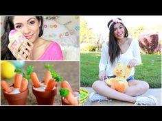 Easter Makeup, Outfit Ideas, + DIY Treat!
