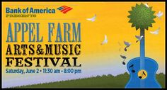 Appel Farm Arts & Music Center, Elmer, NJ  Jen worked there