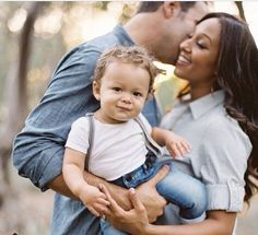 Tamera, Adam and their son Aden || #bwwm #wmbw