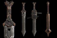 The Hobbit: An Unexpected Journey - Thorin Oakenshield's Sword & Balin's Mace Weta Workshop