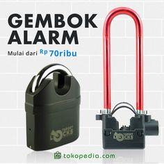 Beli Gembok Alarm murah, mulai dari Rp 70.000,- di https://www.tokopedia.com/hot/gembok-alarm