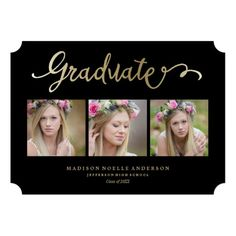 Find customizable Grad invitations & announcements of all sizes. Pick your favorite invitation design from our amazing selection. Mickey Mouse Birthday Invitations, Graduation Invitations, Party Invitations, Graduation Ideas, Wedding Invitation Templates, Invitation Design, Jefferson High School, Gender Reveal Invitations, Rainbow Wedding