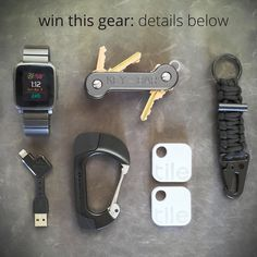 GIVEAWAY: We've teamed up with these companies to hook 5 lucky winners up with epic prize packs. Details Below. To enter follow each of these companies: @NomadGoods @TiledIt @GetPebble @KeyBar @BomberAndCompany Tag 2 friends who desperately need a gear upgrade. Winners on Sunday:4 standard prize pack winners and 1 grand prize winner will be selected. Standard Prize Pack:1 Nomad Key 1 Nomad Carabiner 1 KeyBar 1 Bomber keychain 4 Tiles and 1 Pebble Time Watch. Grand Prize Pack:1 Nomad Key 1…