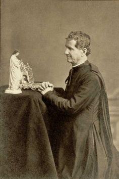Don Bosco. 1880. Indiscutible enamorado de la Virgen.