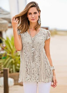 Together Lace Sleeveless Top