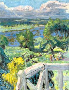 Pierre Bonnard - Coup de soleil (La terrasse de 'Ma roulotte' à Vernonnet)